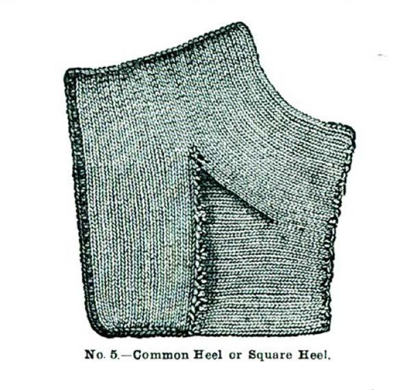 sock heel