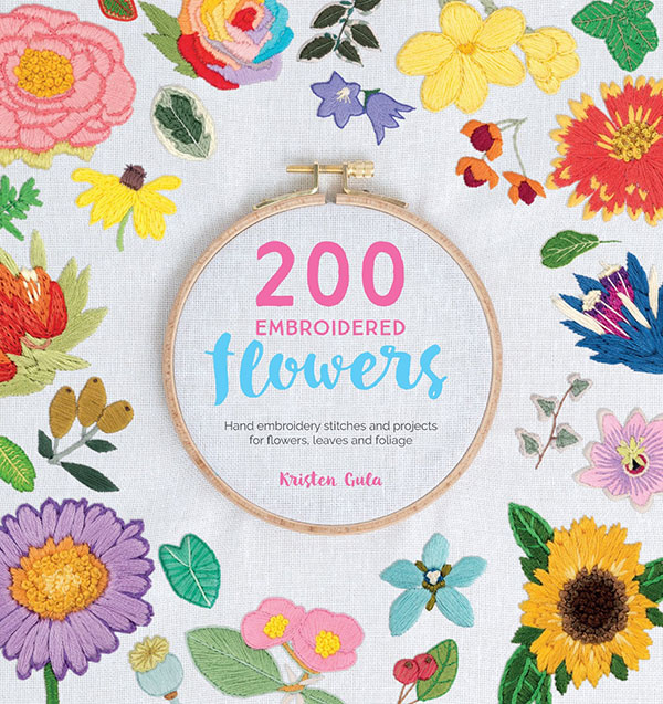Simple Embroidery Stitches 200 Embroidered Flowers Interweave