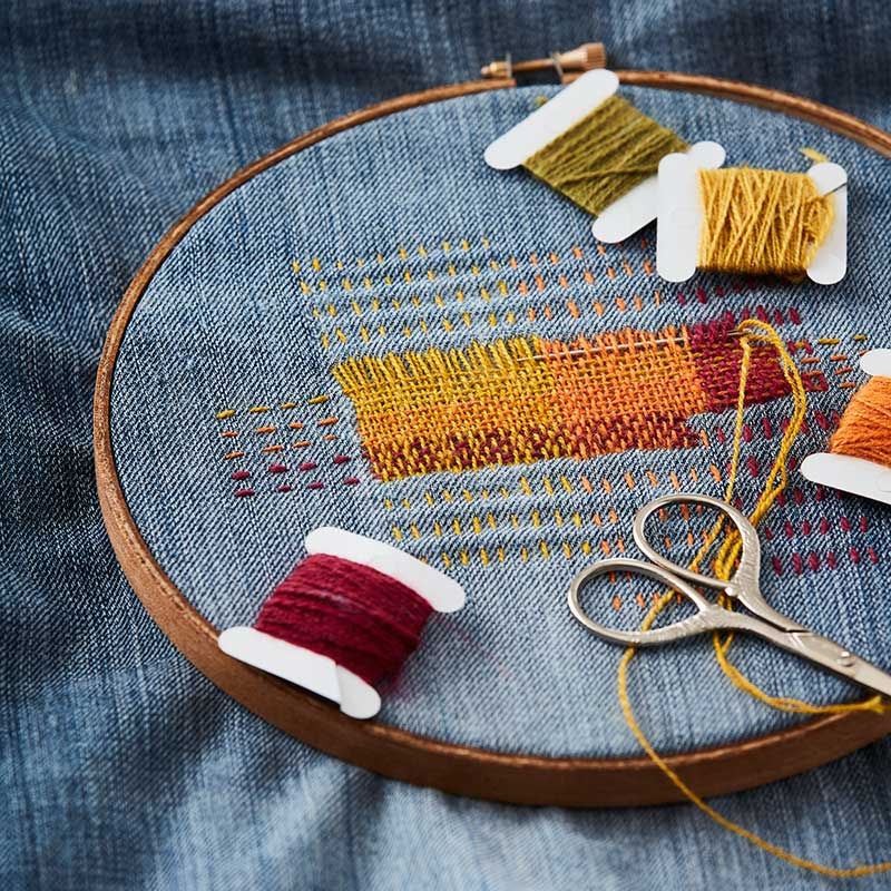 Visible Mending: 7 Tricks to Know Before You Sew | Interweave