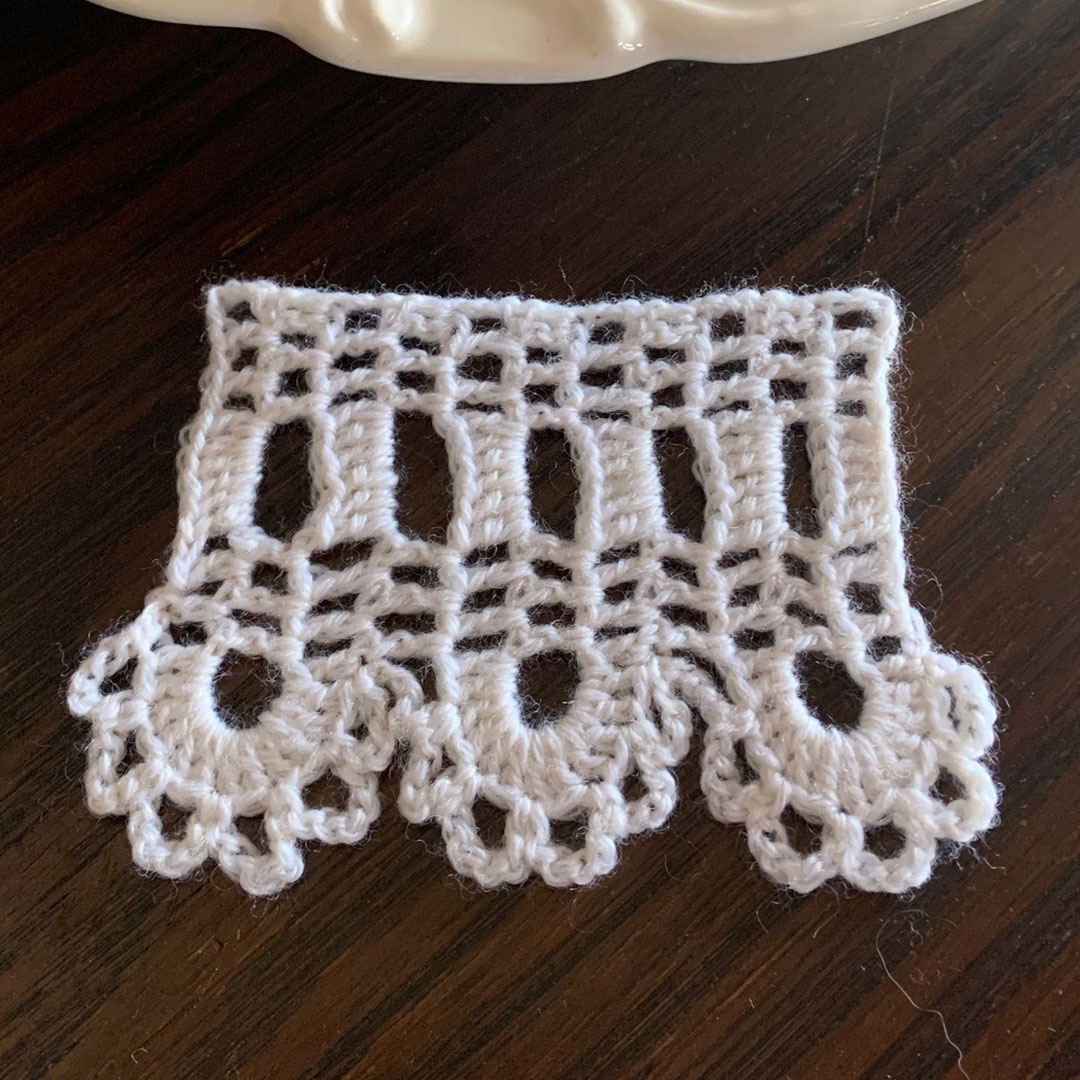 crocheted edgings