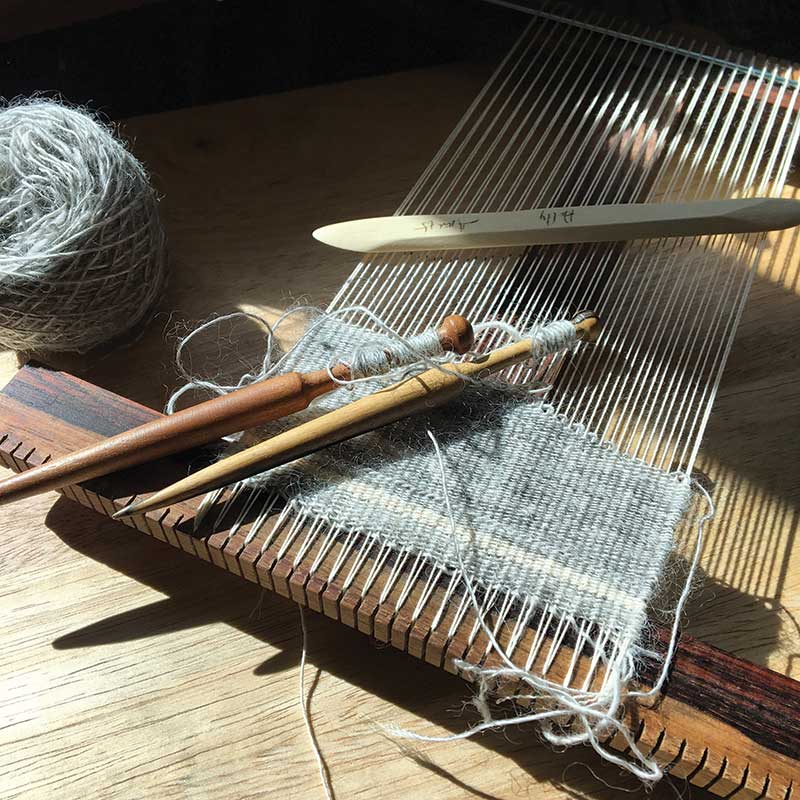 Weaving with Handspun: What Makes a Good Tapestry Yarn