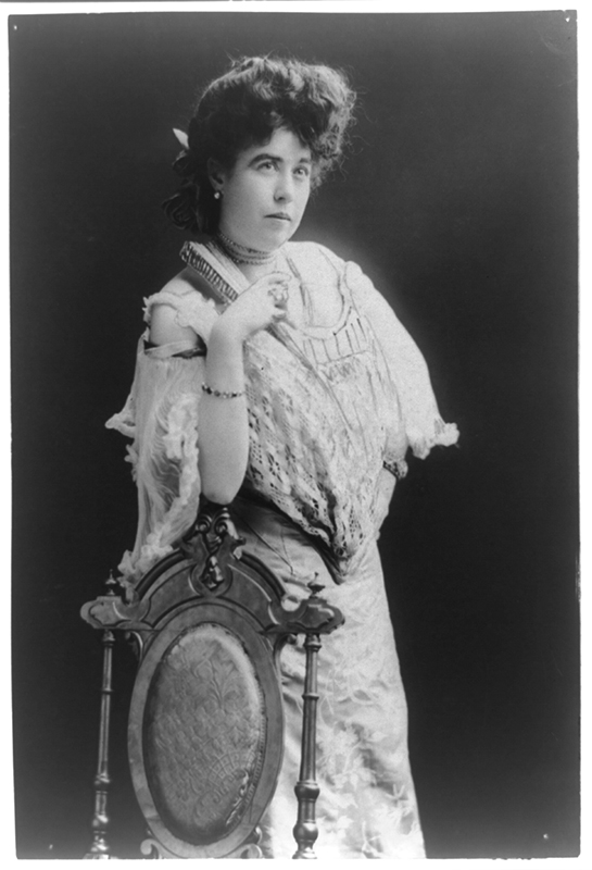 """Photo of """"Molly"""" Brown. George Grantham Bain Collection, Library of Congress Prints and Photographs Division, Washington, D.C. Photo courtesy of the Library of Congress."""
