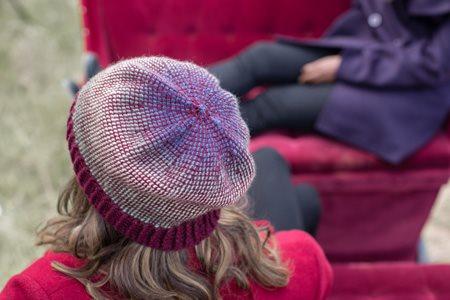 Aurora Borealis Hat Top