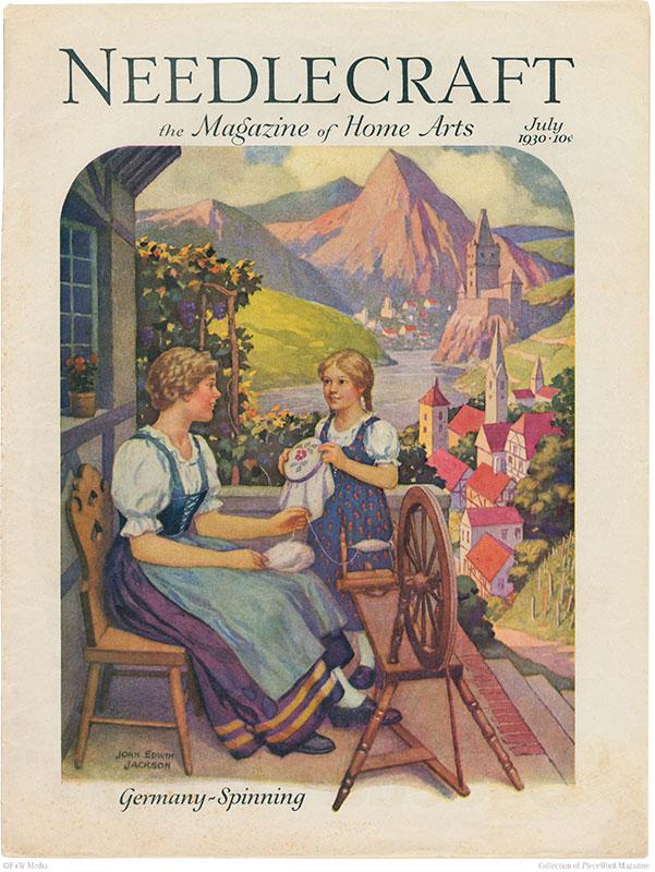 vintage needlework magazines