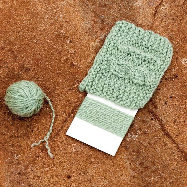A 2-ply yarn looks nice but lacks body. Photo by Joe Coca.