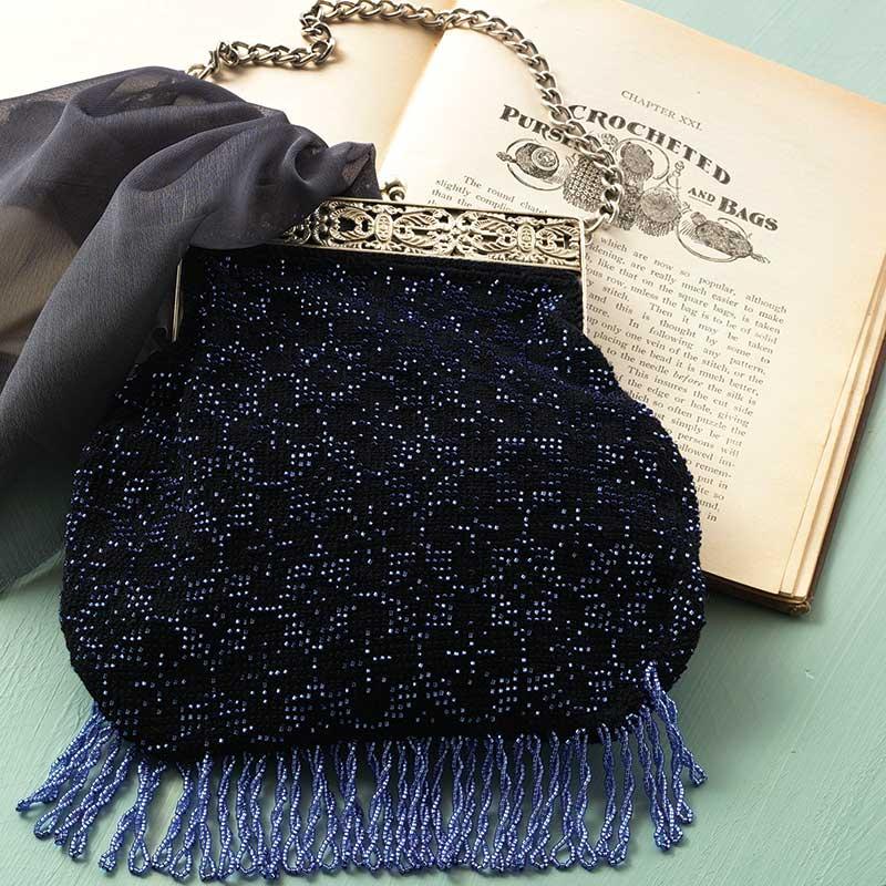 """Addie Heron's Purse to Bead-Crochet"" by Karen C. K. Ballard features in PieceWork September/October 2013. Photo by Joe Coca."