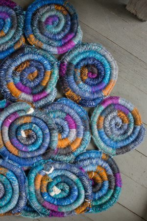 Stained Glass Rug Bottom