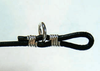Making Leather and Wire Bracelet Step 5