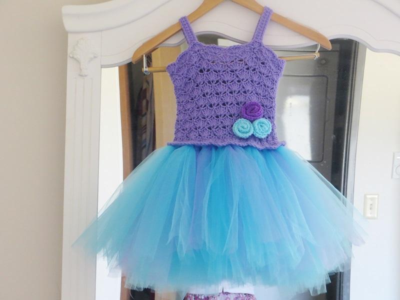 Crochet Tutu Dresses No Sewing Interweave