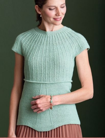 Get the Hope Top, a free knitting pattern!