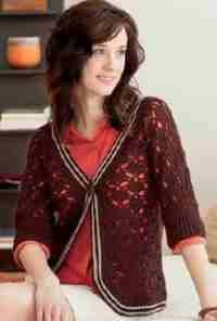 Women's Crochet Sweater