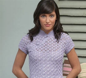 Learn how to crochet this beautiful tunic pattern in this FREE eBook on crochet tops for women and a shaping guide.