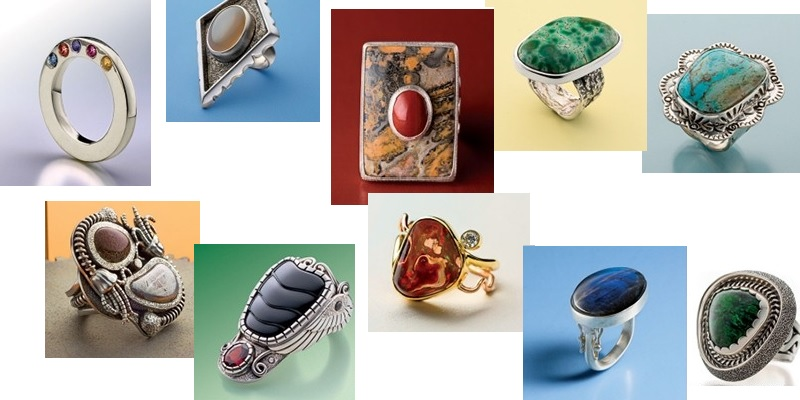 Ring Projects to Inspire and Amaze: See the 10 Gemstone Rings to Make Lookbook