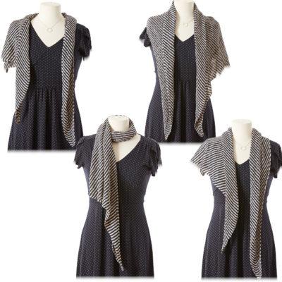 asymmetrical shawl