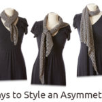 10 Ways to Style an Asymmetrical Shawl