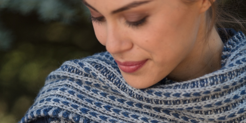 Wrongside Out: the Scalloway Scarf