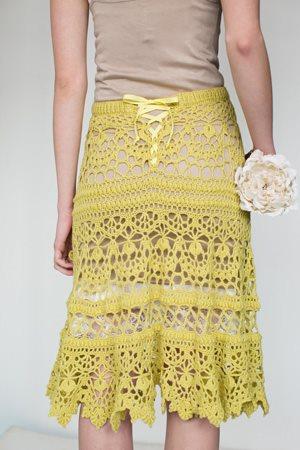 Roslind Skirt Back