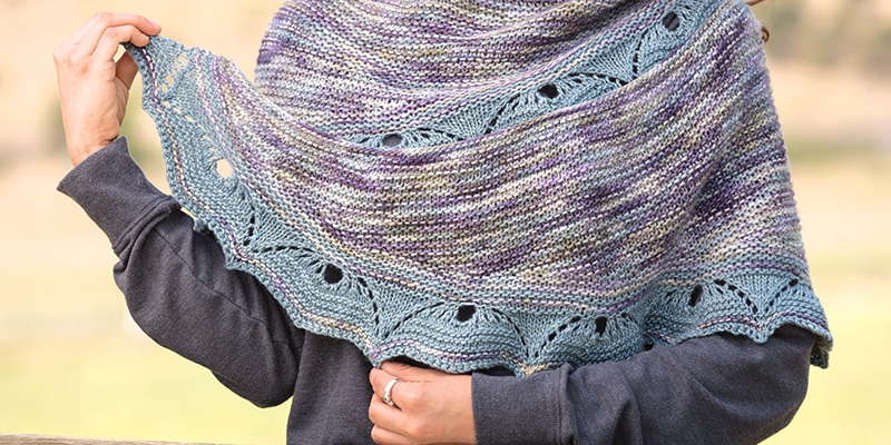 6 Great Ways to Wear a Crescent Shawl