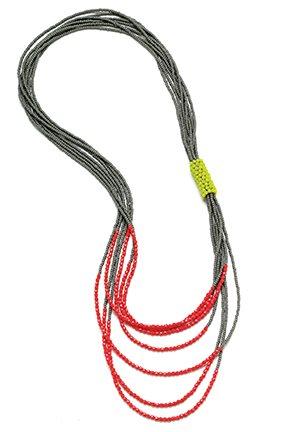 Bead Bound Necklace