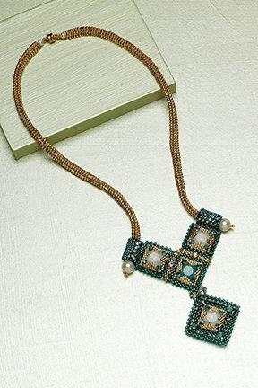 Dramatic Deco Necklace