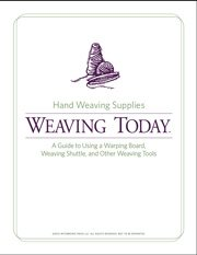 Learn everything you need to know about weaving tools in this free guide.