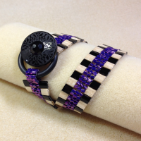herringbone bead stitch