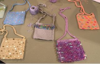 Sequined Bags - Needle Arts Studio