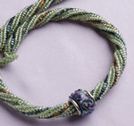 The Fresh Twist is a beading necklace pattern found in our free Beading Patterns for Seed Beads eBook.