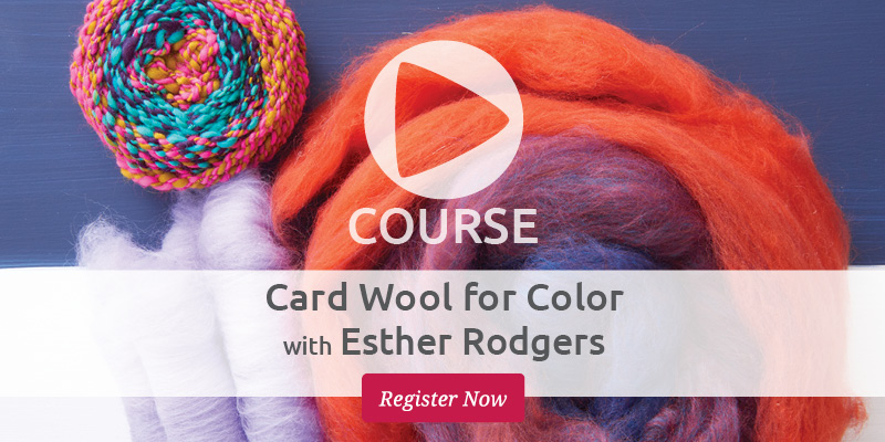 Spin like a Boss with Colorful Carded Wool!