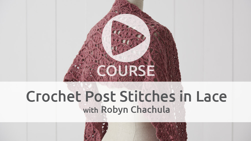 Charting Your Way in Crochet Lace and Why Post Stitches Are Awesome