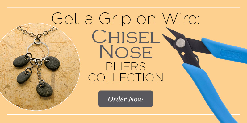 chisel nose pliers collection - a great jewelry-making tools resource
