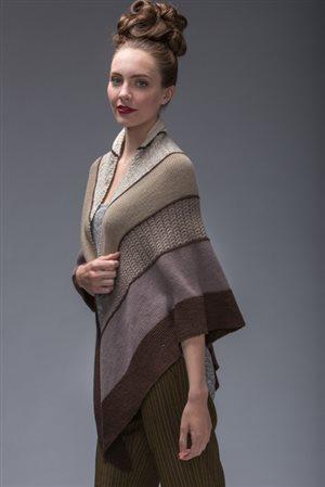 Beautiful Carrara knit shawl pattern