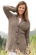 Crochet Cardigan, Better Than His Cardigan by Amy Gunderson
