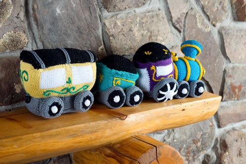 circus train knitting pattern