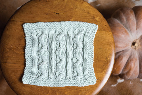 Swatch Cloth Knitting Pattern
