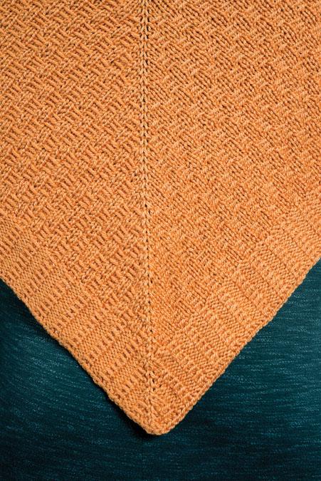 Apricot Shawl Knitting Pattern