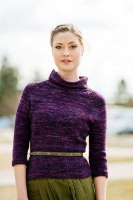 Orbit Pullover Knitting Pattern