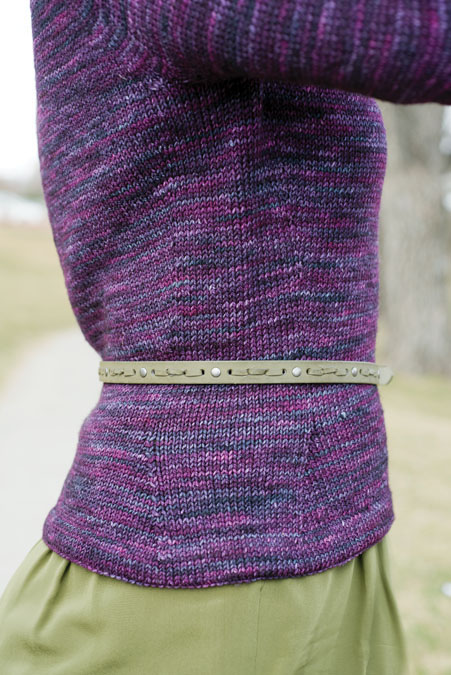 Orbit Pullover Knitting Pattern
