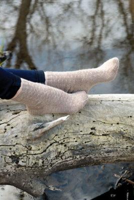 Crestwood Socks Knitting Pattern