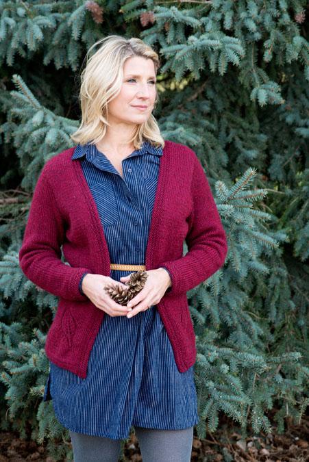 Autumn Cardigan Knitting Pattern