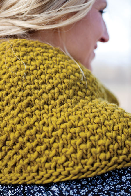 Evelyn Cowl Knitting Pattern