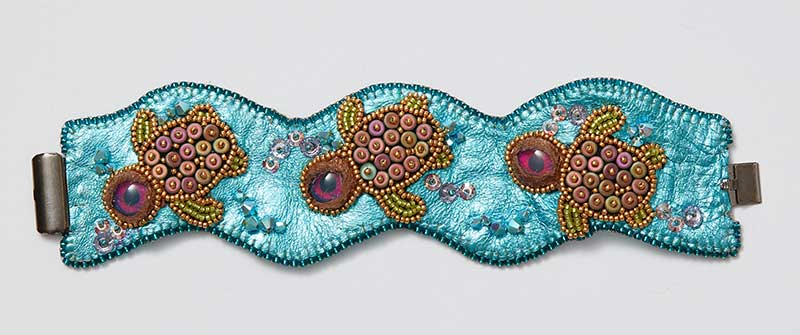 How to Finish Bead Embroidery Designs Professionally
