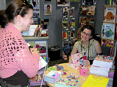 Get Hooked book signing