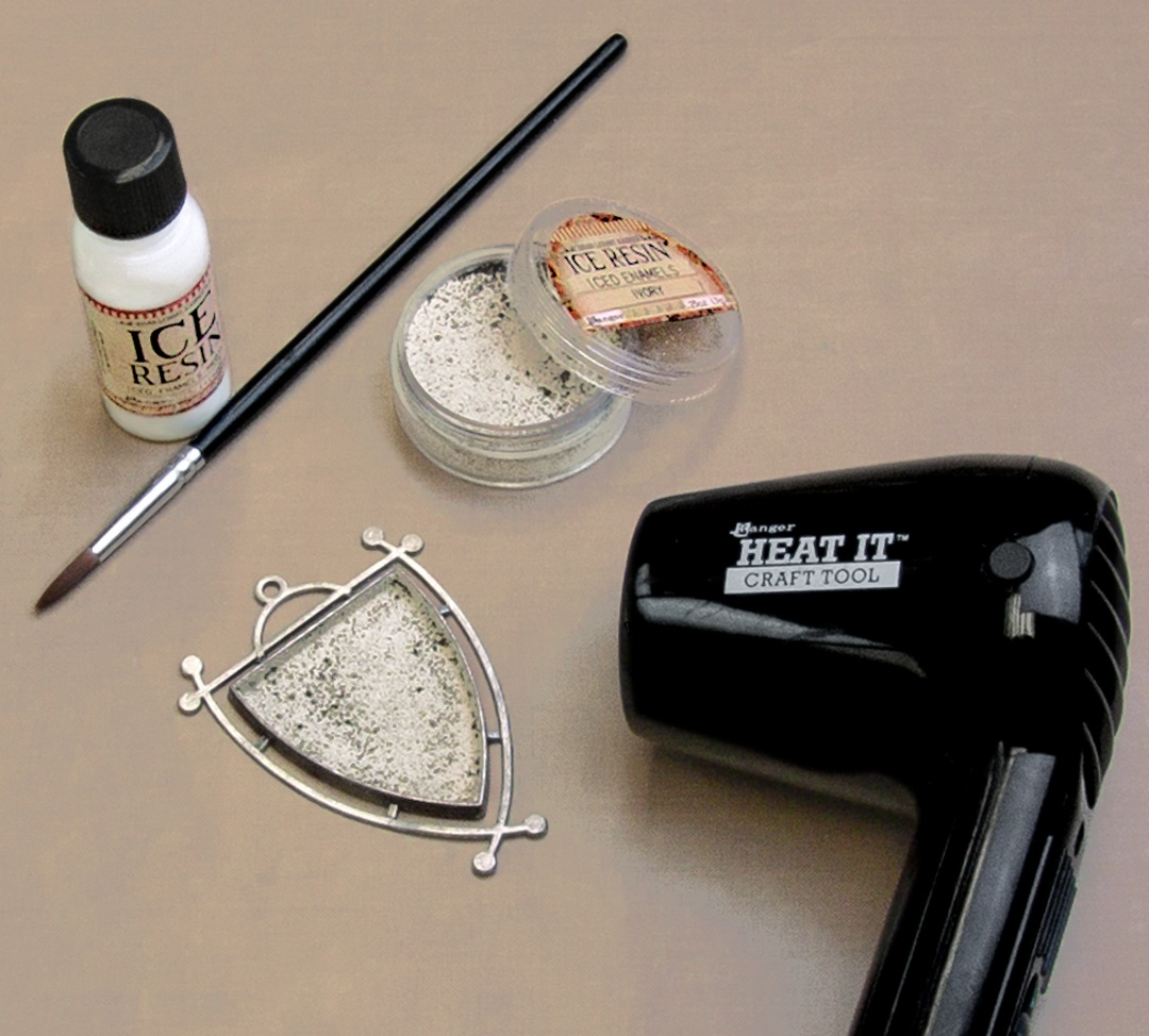 curing Iced Enamels cold enamel powders