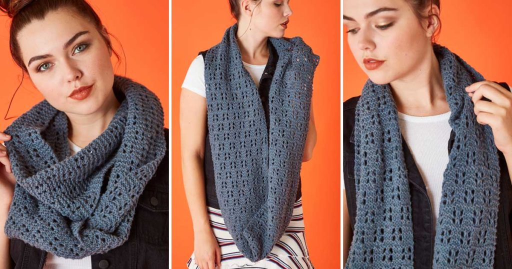 The Breaker Cowl: How to Graft Garter Stitch Without a Jog at the Selvedges