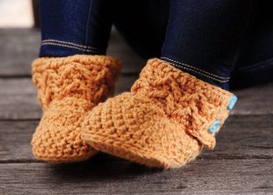 Molly's Mukluks are cute little booties that are a great gift for your baby girl.