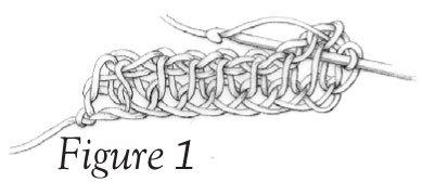 Tunisian Knit Stitch (tks) - Figure 1