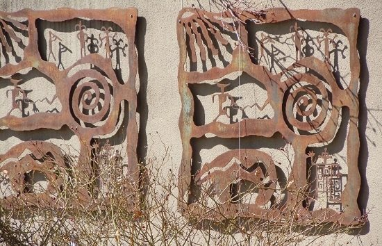 petroglyph art