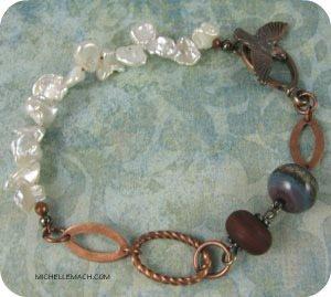 Winter Bracelet by Michelle Mach