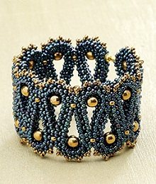 Rhythm of the Sea Bracelet by Sara Zsadon